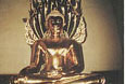 LAOS-a-Buddha-statue-of-pure-gold